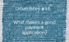 Urban Bites #28 - What makes a good payment application?